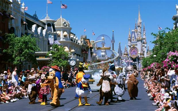 Magic Kingdom, parque da Disney em Orlando  Foto: Alamy
