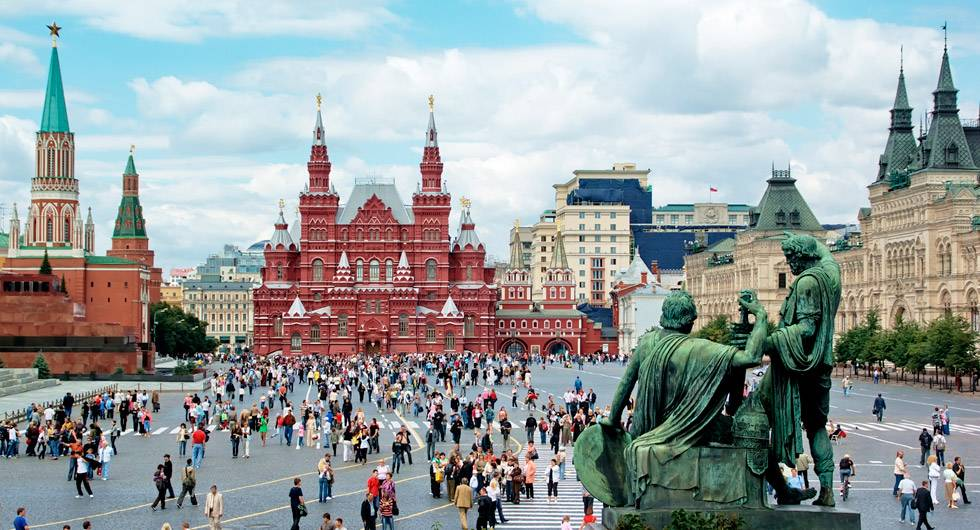 "Moscou, a capital russa, lidera o ranking da revista ""Travel + Leisure"""