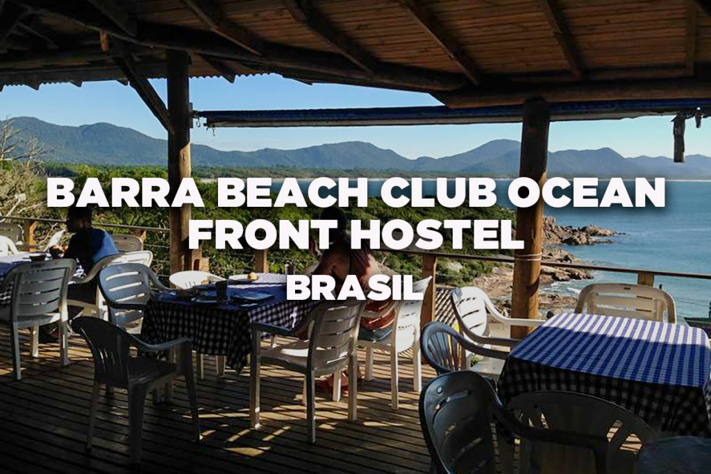 Barra-Beach-Club-Oceanfront-Hostel,-Florianopolis,-Brazil---Best-Hostel-in-Latin-America-and-Brazil---PT