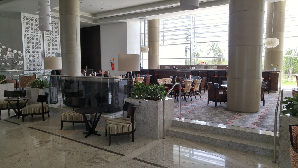 Lobby do Sheraton Reserva do Paiva Foto: Anchieta Dantas Jr.