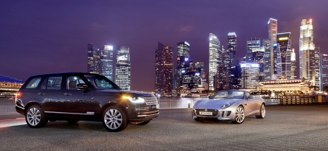 Carros da Jaguar e Land Rover estarão no evento