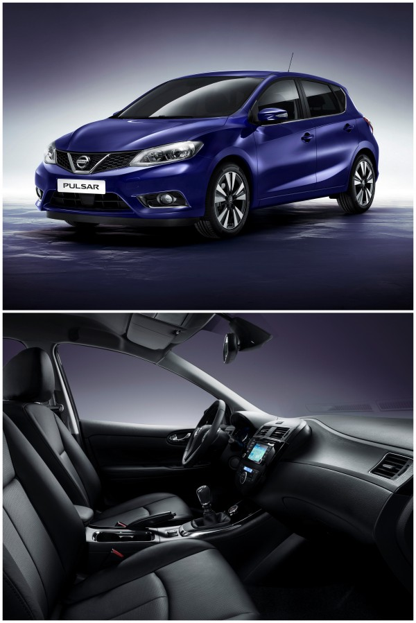 Frente e interior do Novo Pulsar da Nissan