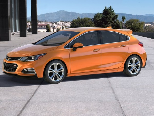 Modelo hatch do Chevrolet Cruze
