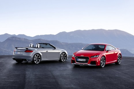 Audi TT RS Roadster, Audi TT RS Coupé