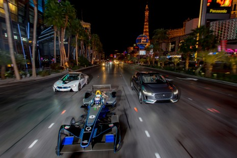 2016/2017 FIA Formula E Championship. Vegas eRace, Las Vegas, Nevada, United States of America. Thursday 5 January 2017. Photo: Alastair Staley/LAT/Formula E ref: Digital Image 585A1483