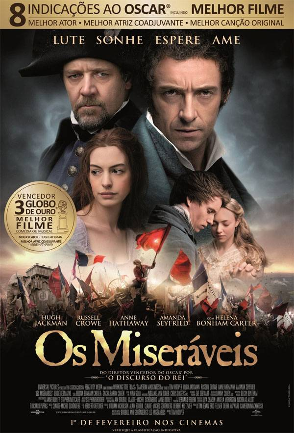 Os Miseráveis (Dual Audio) BDRip XviD