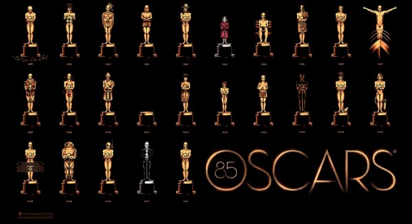 Logomarca do Oscar 85 da Academia de Hollywood
