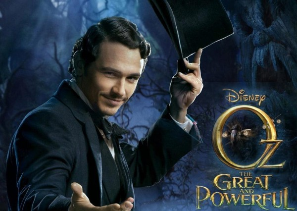 James Franco no pôster de OZ: MÁGICO E PODEROSO
