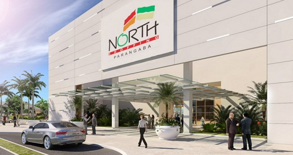 Maquete do North Shopping Parangaba, que mudou para Nortn Jóquei
