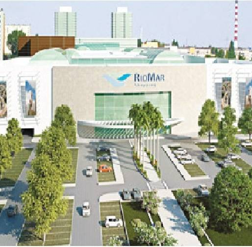 Maquete do RioMar Shopping