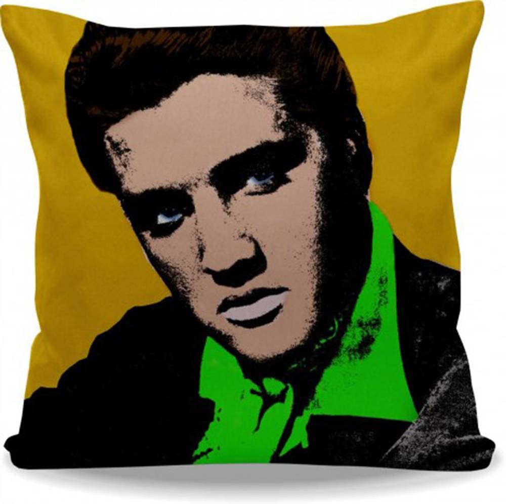 Elvis Presley em Pop Art - Color.