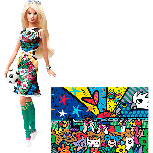 barbie romerobritto