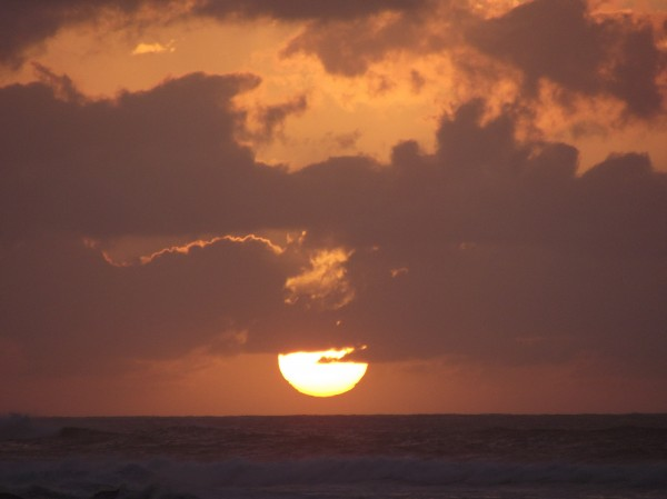 Por do Sol visto de Sunset Beach-Foto-George Noronha