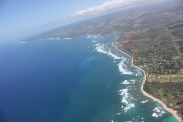 North Shore visto de cima-Skydiver-Hawaii-Foto-Cado (99)