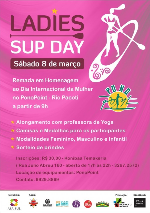 CARTAZ LADIES SUP DAY