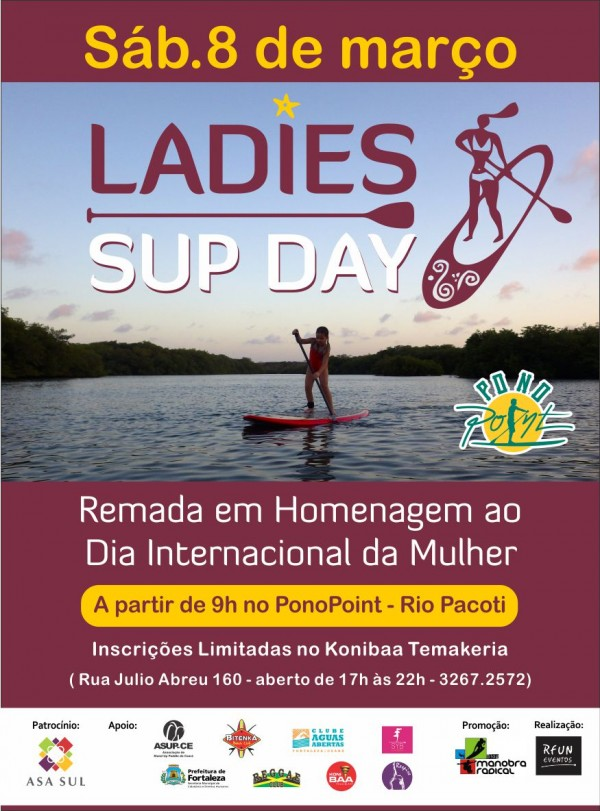 Cartaz do Ladies SUP Day