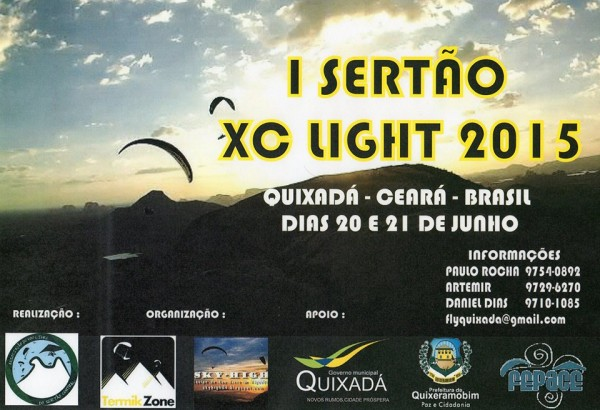 1º SERTÃO LIGHT - 2015