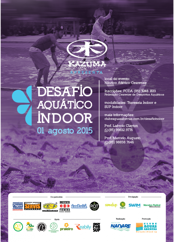 CARTAZ DESAFIO INDOOR DE SUP E AA