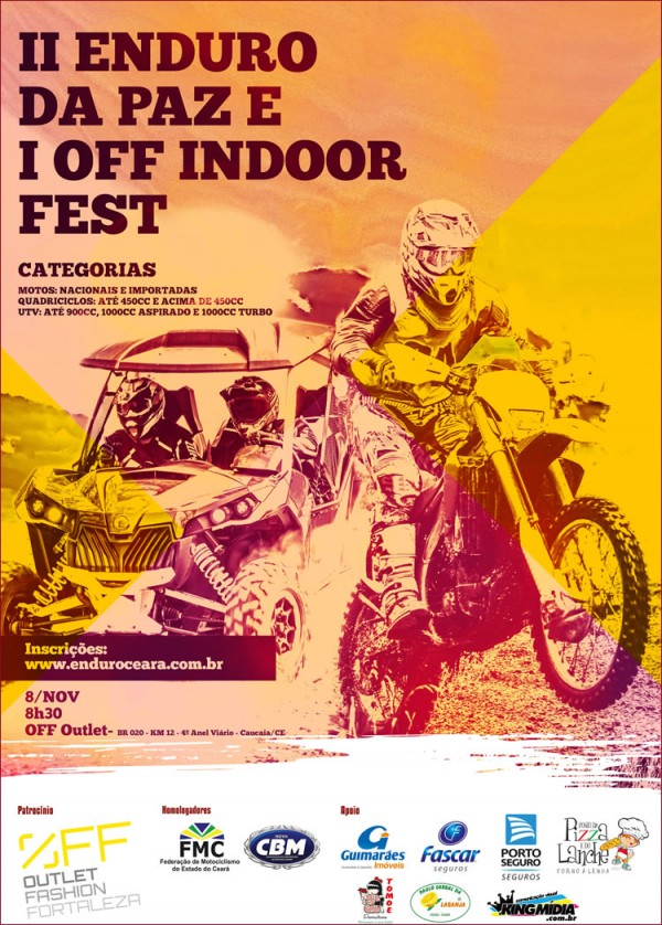 Cartaz Off Outlet Indoor