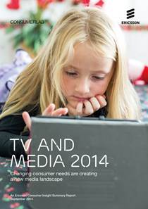 Capa do estudo TV & Media 2014