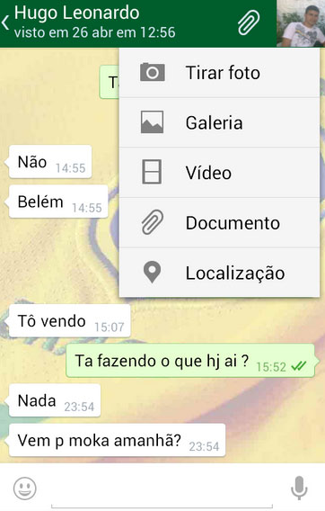 Interface do ZapZap é idêntica à do Whatsapp (Foto: Divulgação)