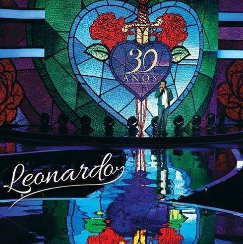 Capa DVD do cantor Leonardo