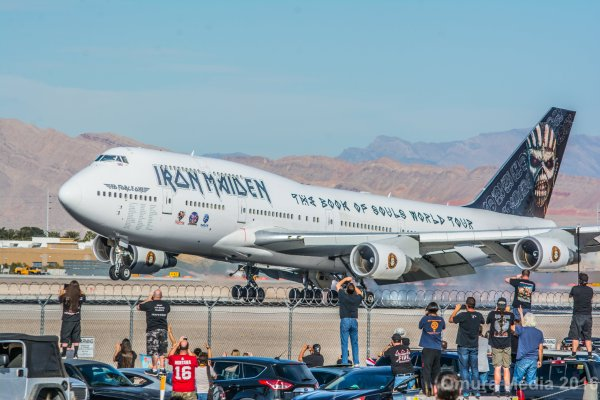 Found #edforceone at Southwest Cargo! @IronMaiden https://t.co/7d4GnjcUJt - @vegastripping