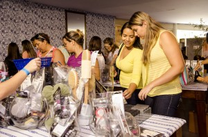 Lounge de beleza, no Bazar La boutique