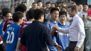 BECKHAM  GAROTO PROPAGANDA NA CHINA